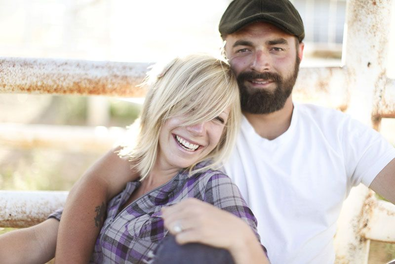 f85eebb538ad Drew and Ellie Holcomb from