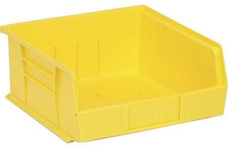 Quantum Storage Systems Quantum Qus235 Plastic Storage Stacking Ultra Bin 10 Inch By 11 Inch By 5 Inch Yellow Case Of Plastic Storage Storage Storage System