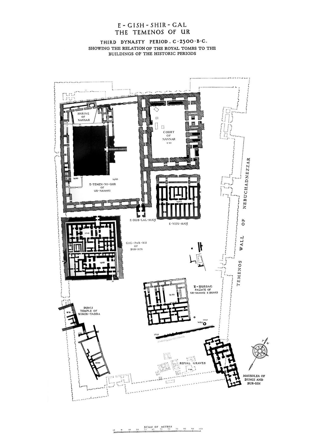 Ziggurat Of Ur Ca Bce Tell El Mukayyar