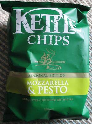 Kettle Chips – Mozzarella & Pesto.Where do I find these?!?!