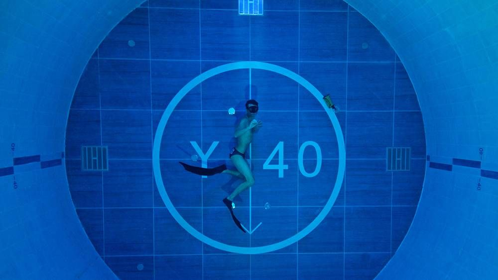 Y40 Deep Joy This is the world's deepest swimming pool