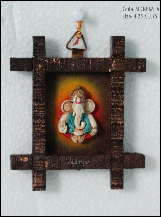 Small Ganesh Wall Hanging Indian Handicraft Products