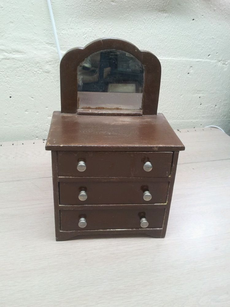 1//12 Dollhouse Miniature Furniture Bedroom Set 6PCS Children Lovely Bear WB014