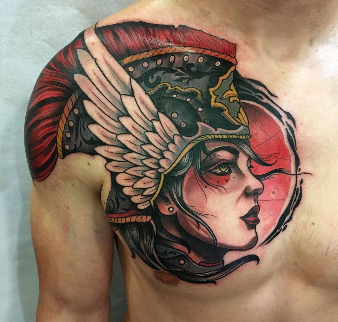 60 Valkyrie Tattoo Designs For Men – Norse Mythology Ink Ideas