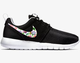 a38f414d17c9 Roshe One · Custom Shoes · Black Nikes · FREE SHIPPING on US Orders! For  more photos and exclusive promotions