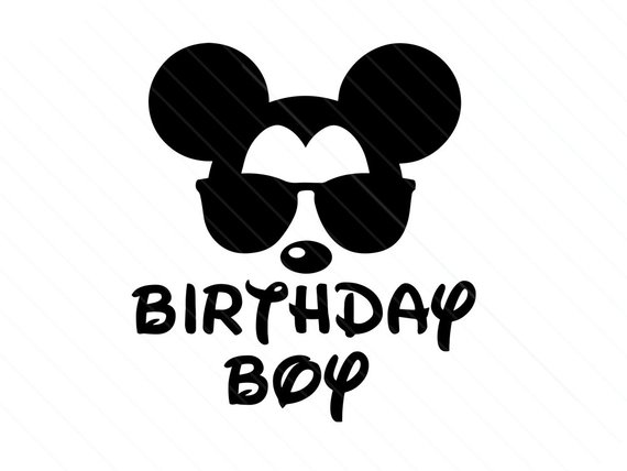 birthday boy girl disney svg mickey kids disneyland printable iron on shirt bday disney party disney theme digital silhouette cricut shirt