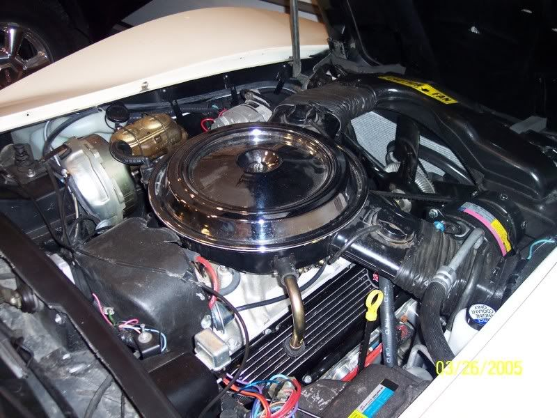 Cleaning Up The Engine Compartment Corvetteforum Chevrolet
