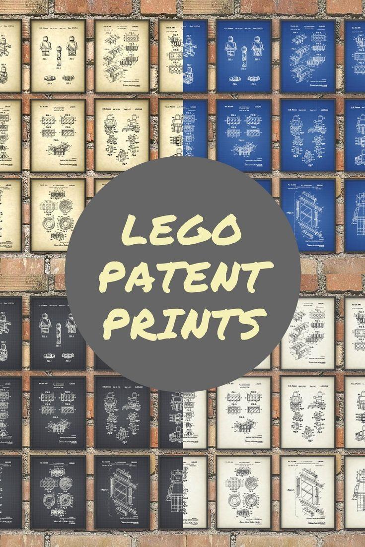 Lego patent prints lego blueprint wall art legoart wallart etsy lego patent prints lego blueprint wall art legoart wallart etsy affiliate malvernweather Images