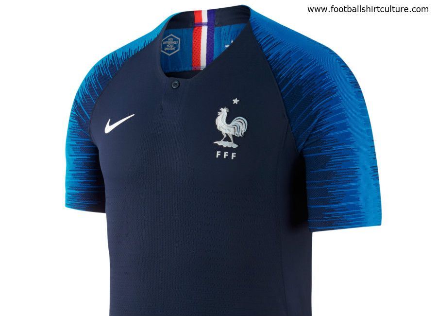 France 2018 World Cup Nike Home Kit  af37423b0