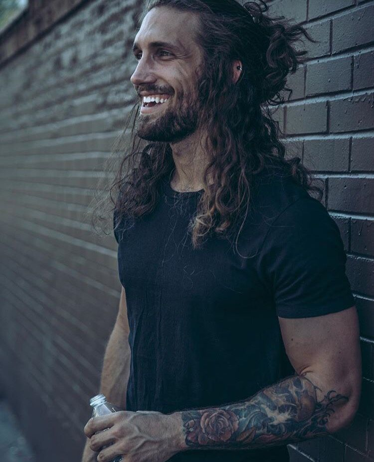 Collected For Your Convenience Photo William Tyler Man Ponytail Mens Ponytail Hairstyles Long Hair Styles Men