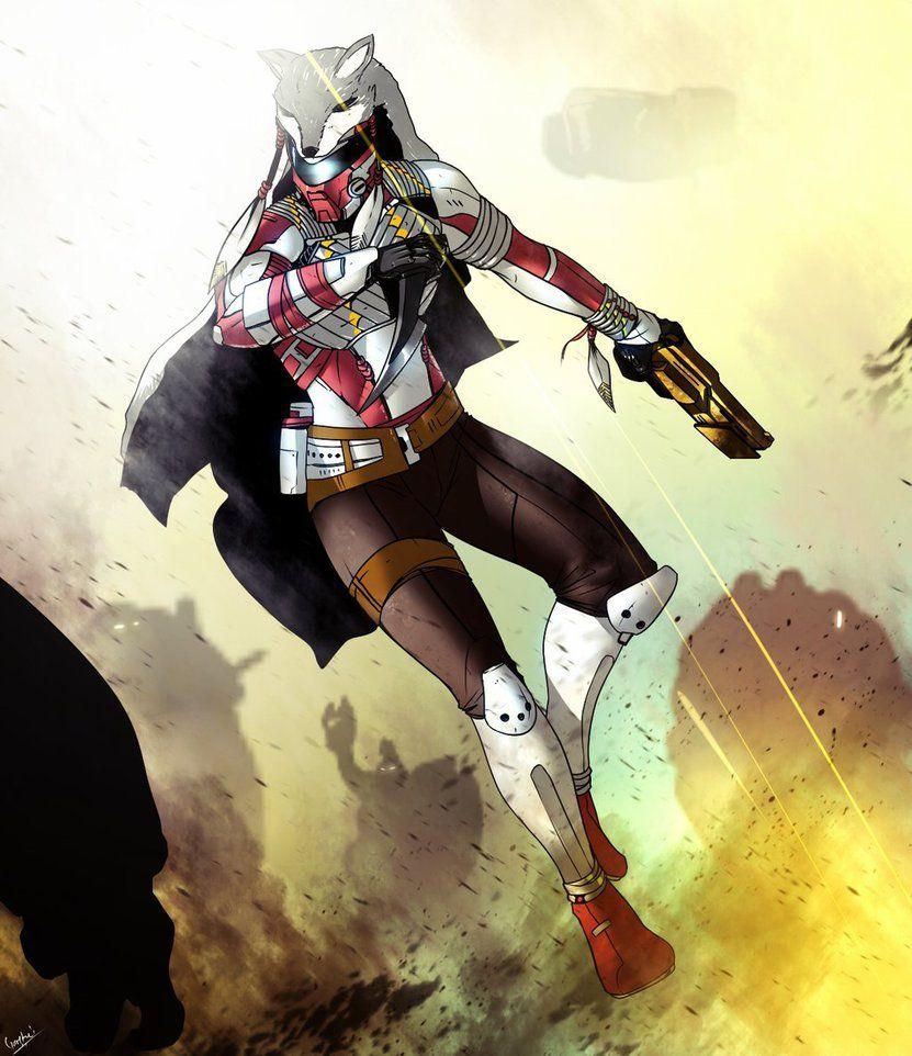 Hunter vs Cabal by Gary-Q on DeviantArt | Destey | Destiny hunter