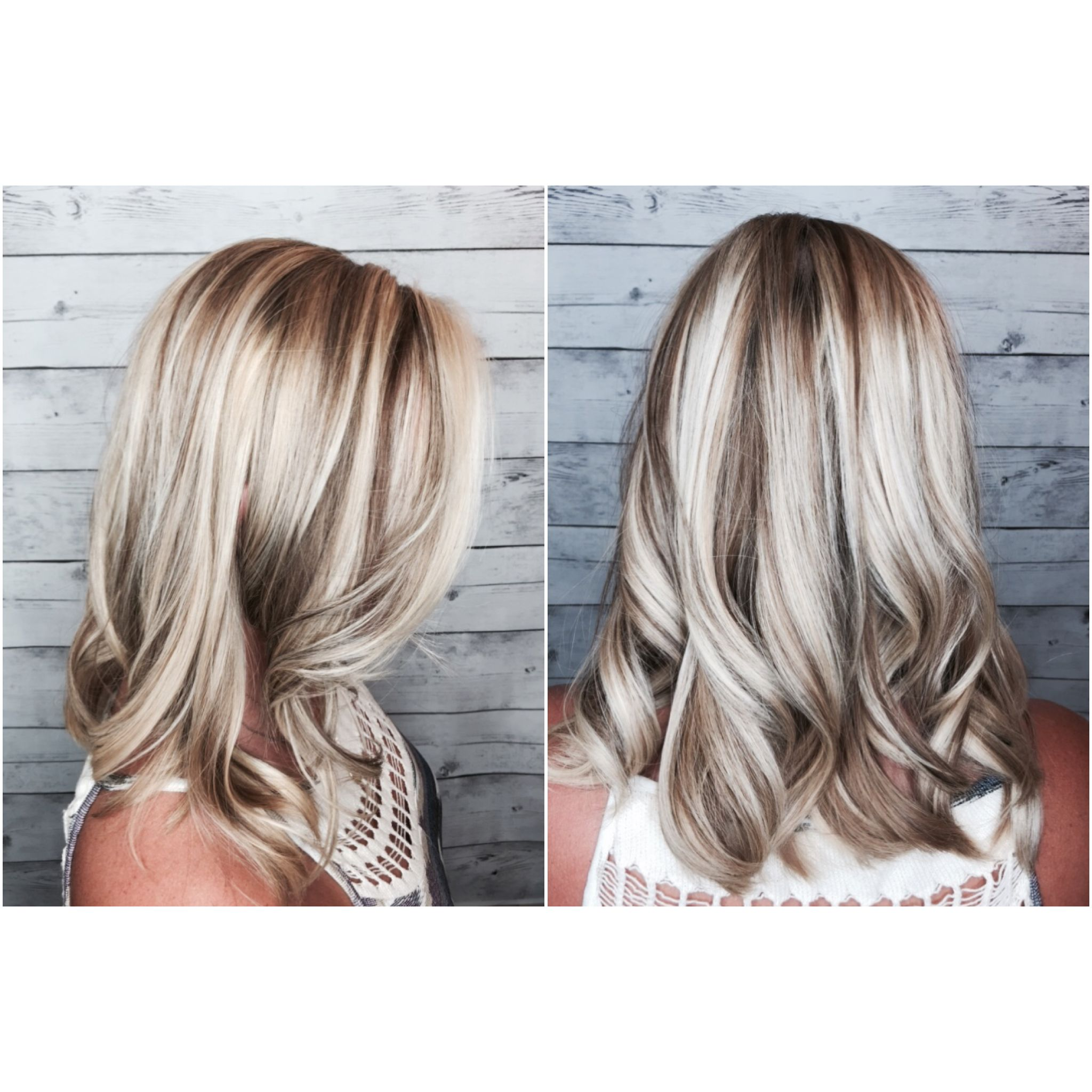 Ash Blonde Lowlights And Highlight By Brittany At Stouts Salon In