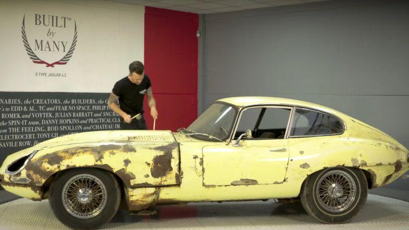 Edd China Has A New Car Restoration Show On Youtube Wheeler Dealers Car Restoration Edd