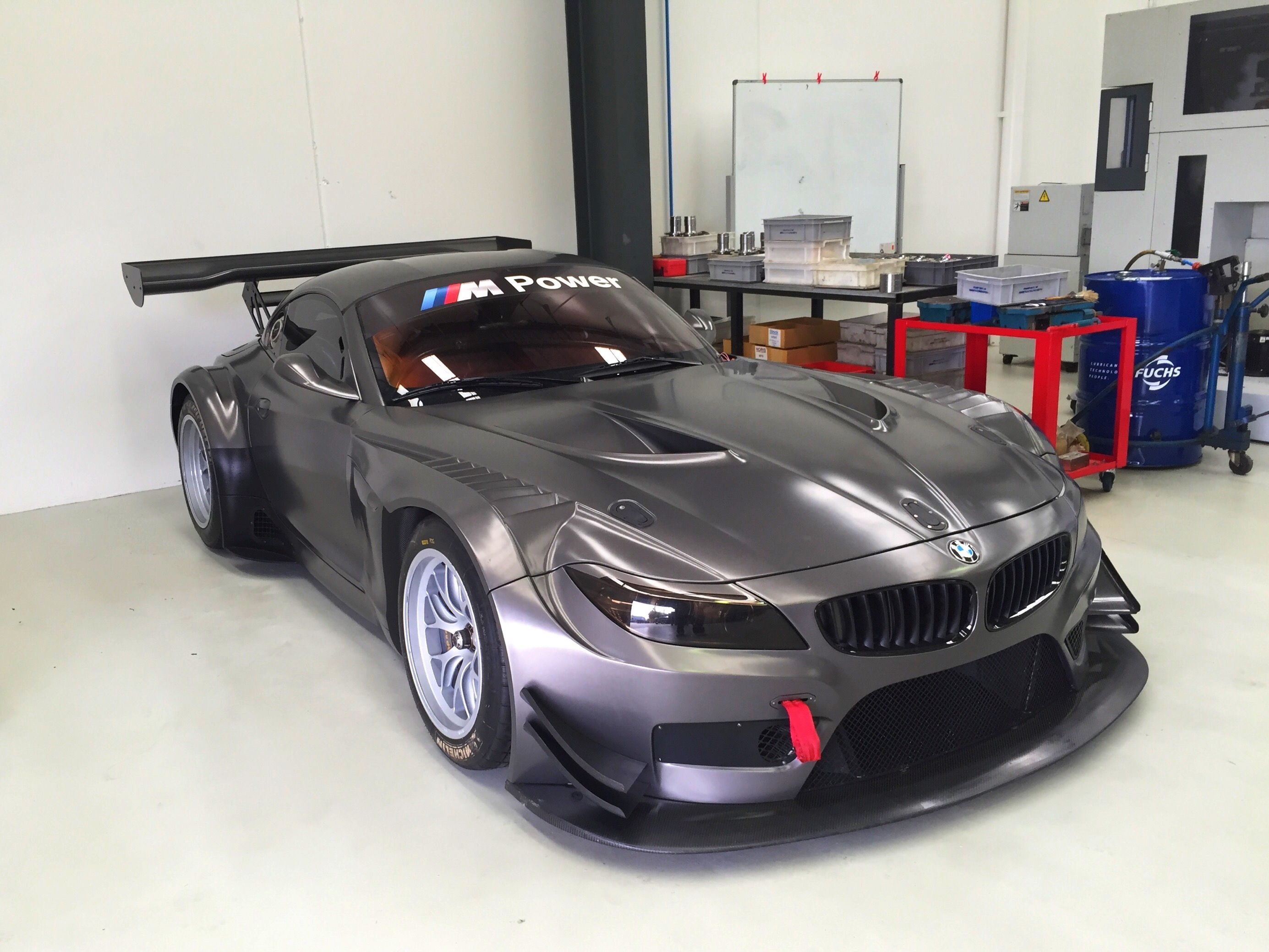 The Bmw Z4 Gt3 I Will Be Competing In The Australian Gt