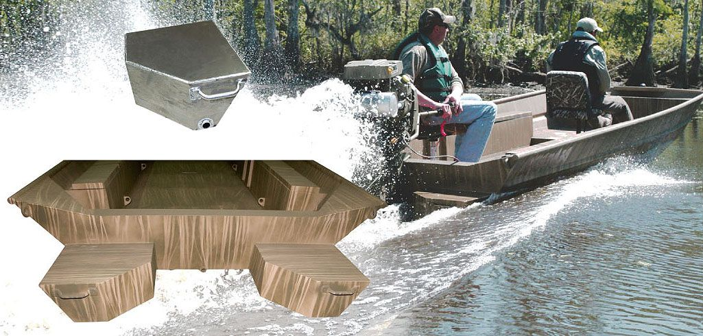 Duck Boats Waterfowl Boats Flotation Pods Performance