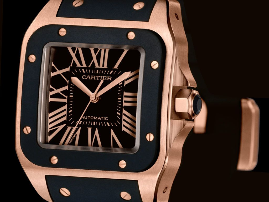 Cartier Icons Santos De Cartier Cartier Watches Mens Cartier Santos 100 Xl Cartier Santos 100