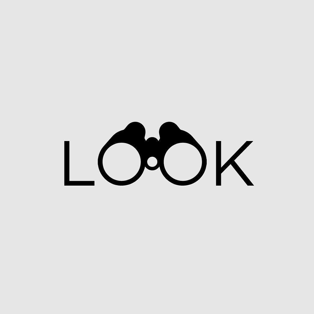 verbicon Look by Micah Allen –  Typography logo inspiration, Clever logo design,…