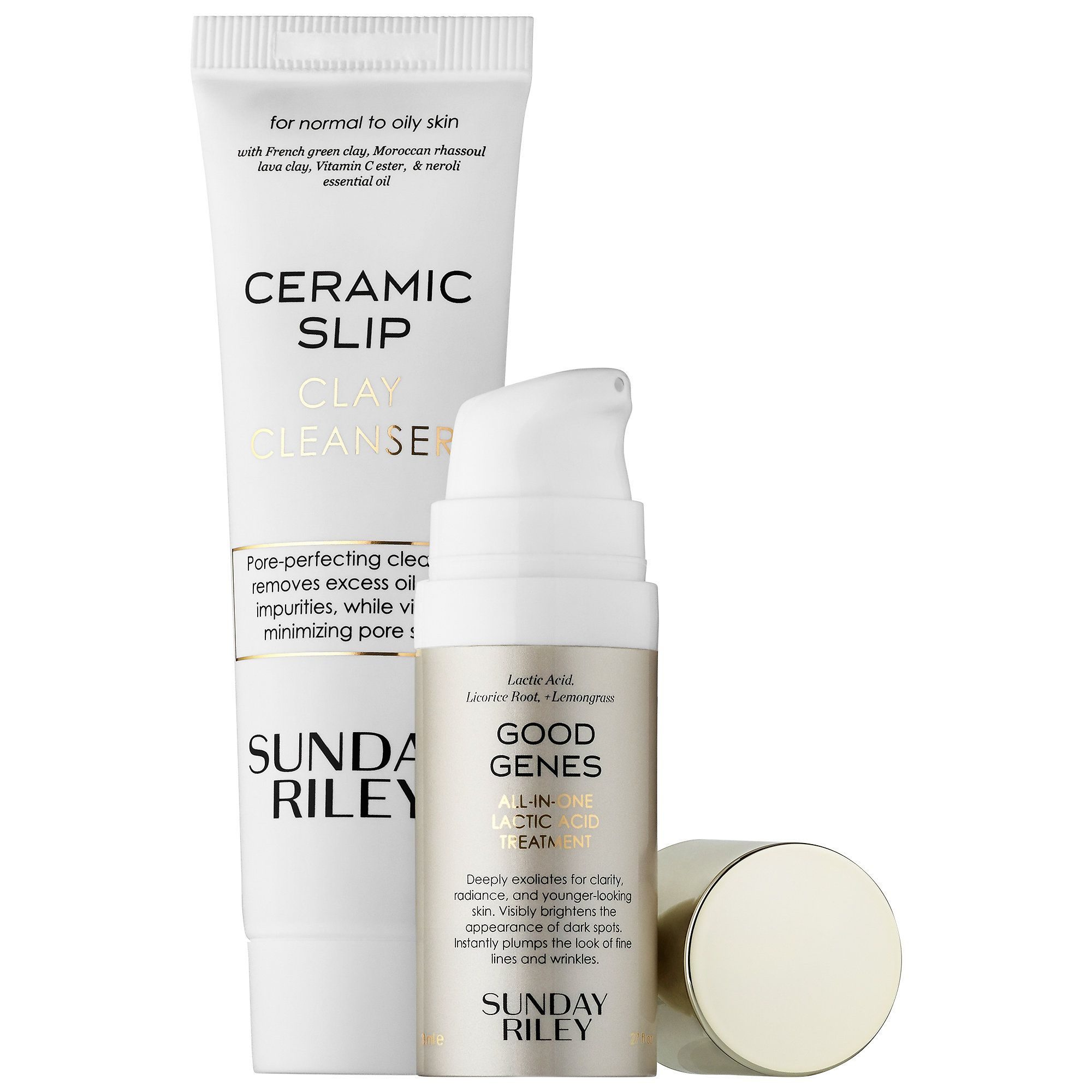 Sunday riley flash fix kit my facial cleansers pinterest