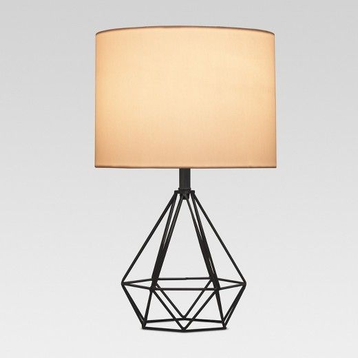 Entenza Wire Table Lamp Includes Cfl Bulb Project 62 Target Geometric Table Lamp Lamp Table Lamp