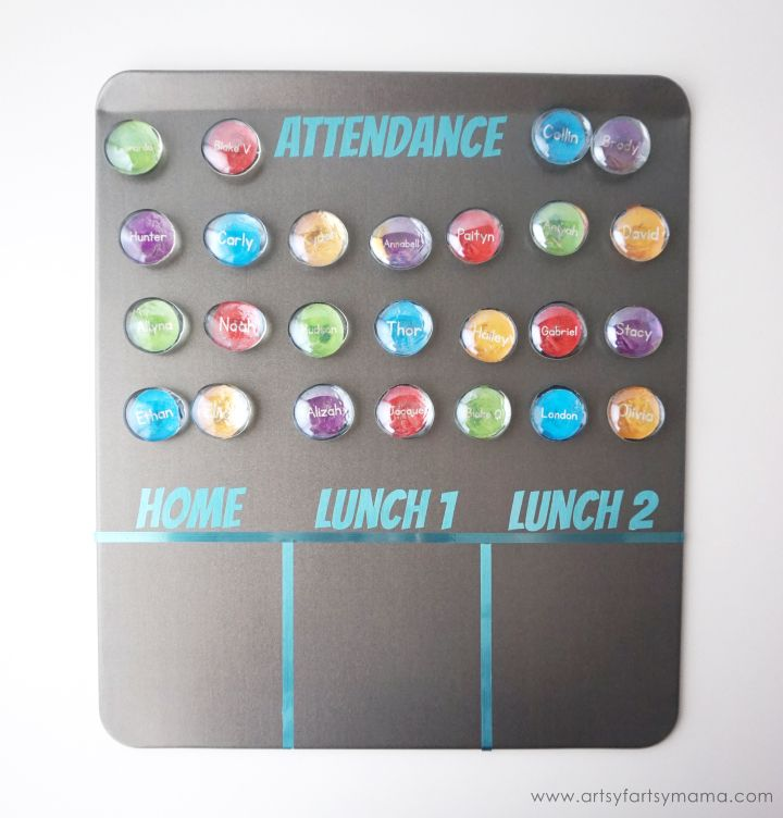 Diy Magnetic Classroom Attendance Lunch Count Board Classroom Attendance Lunch Count Autistic Support Classroom