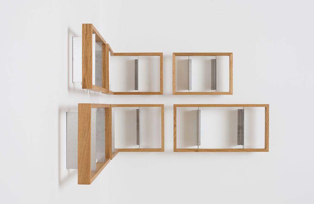 Schwebende Regale möbel mit durchblick schwebende regale für schallplatten cds und