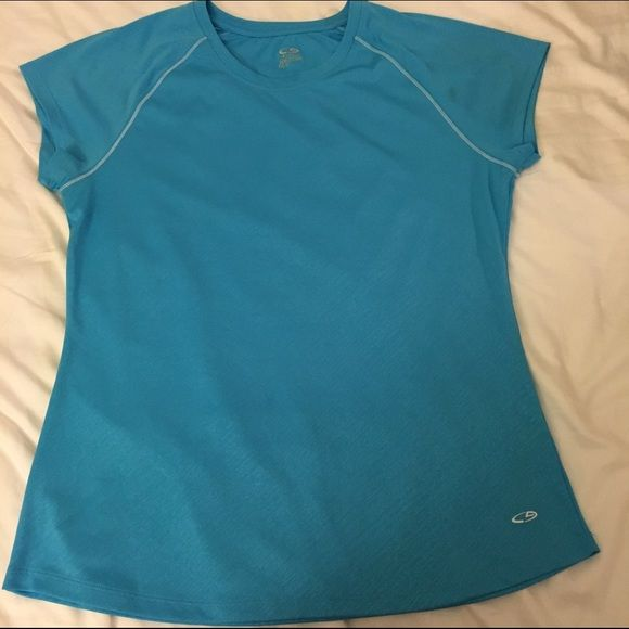 Champion active shirt Short sleeve moisture wicking shirt, semi fitted Champion Tops Tees - Short Sleeve