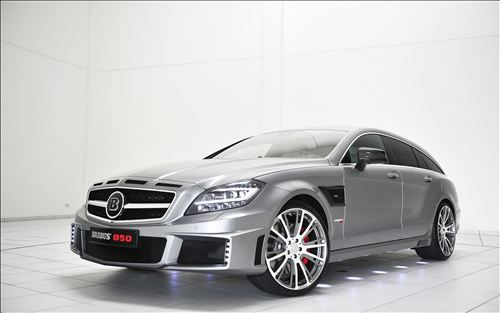 Brabus has unveiled the Brabus 850 Shooting Brake 6.0 Biturbo 4MATIC, the worlds most powerful street-legal all-wheel-drive wagon, at the 2013 Frankfurt Motor Show in Germany.......