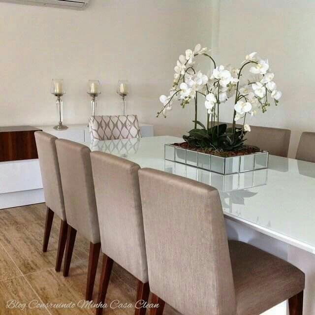 Pin de carolina quihuis en dining room pinterest for Arreglo sala comedor comedor