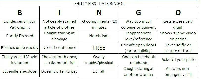 dating Bingo