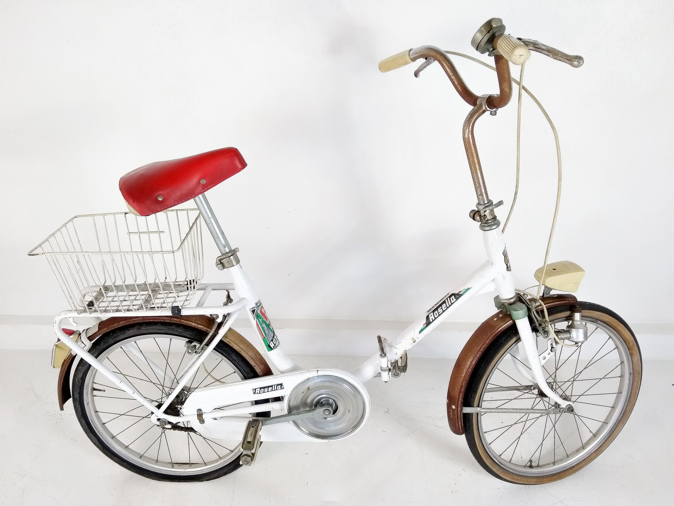 Bicicletta Graziella Rossa
