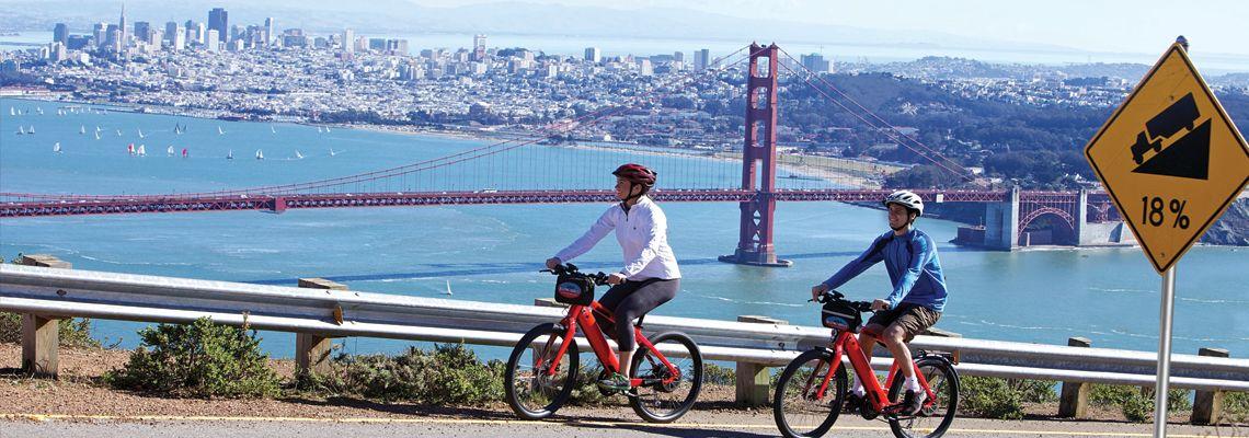 Electric bike rental san francisco sf blazing saddles