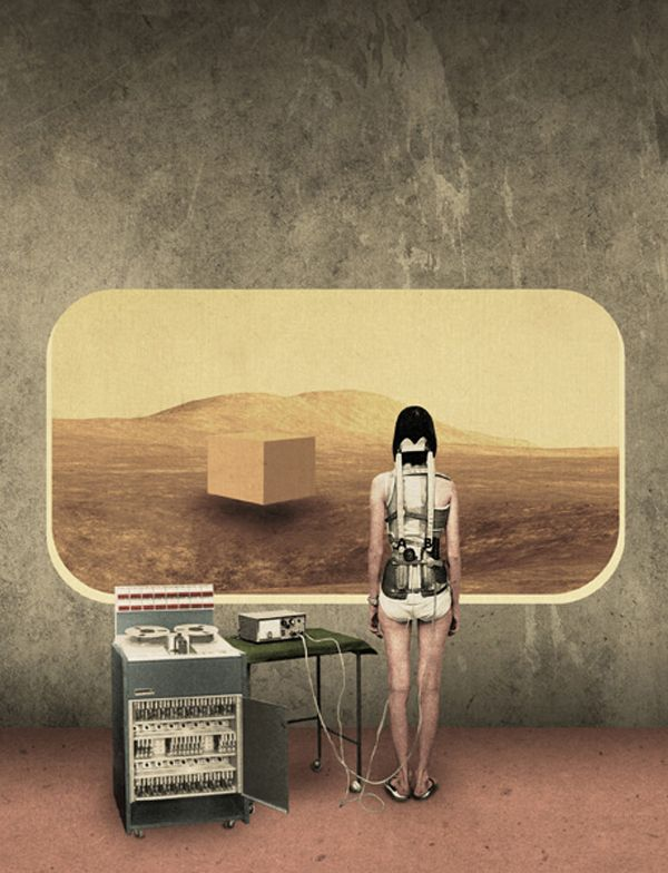 Collage by Julien Pacaud