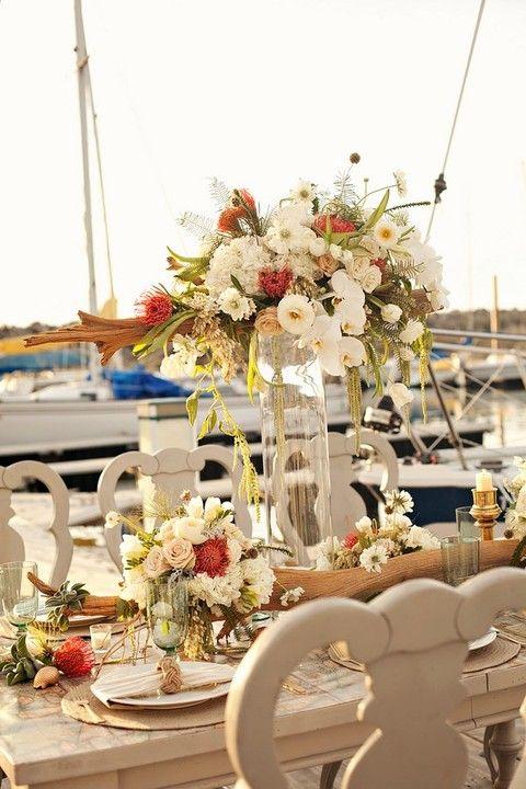 42 Cool Fall Beach Wedding Ideas Beach wedding reception
