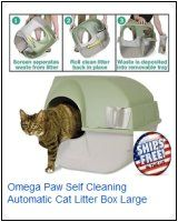 Discount Cat Litter Omega Paw Self Cleaning Automatic Cat Litter Box With Large Rolln Kitty Pewter Scoo Cat Litter Smell Automatic Cat Litter Best Cat Litter
