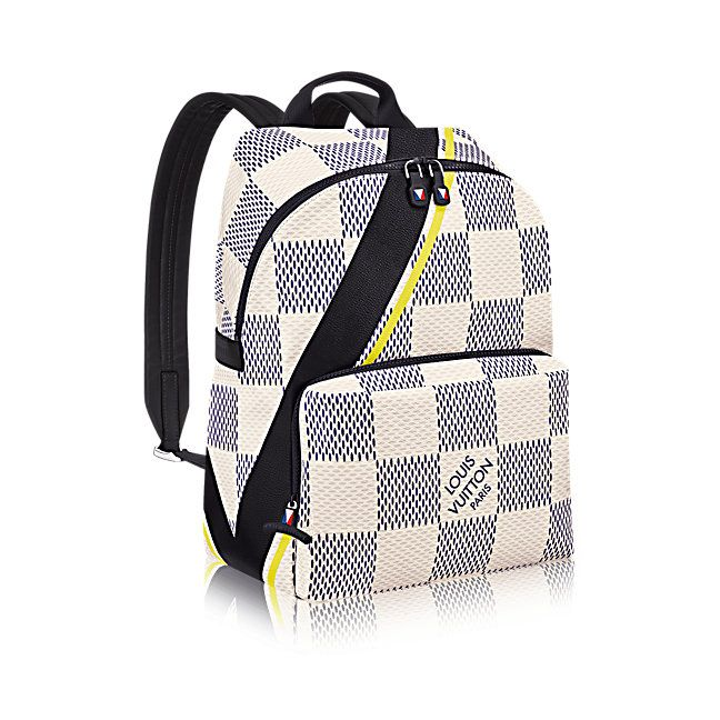 d99333ddfcf5 Apollo Backpack Damier White LV Cup in Men s America s Cup 2017 collections  by Louis Vuitton