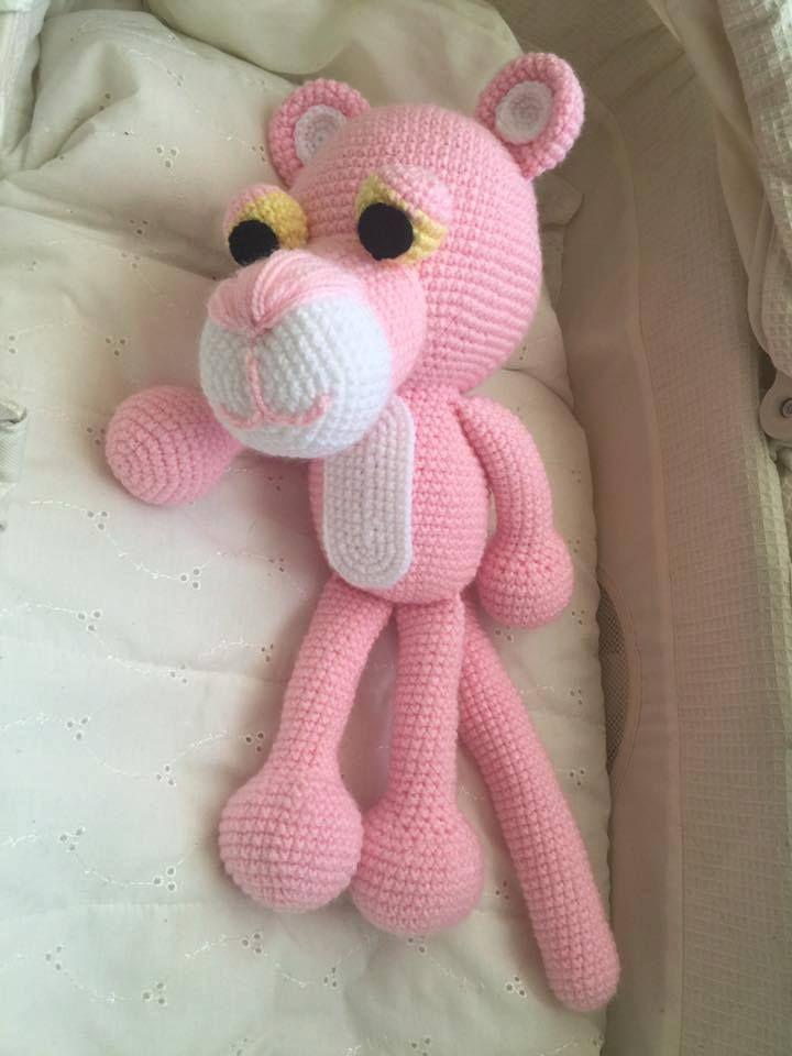 Carolina y su Pantera ♥ Trabajos de amigas tejedoras realizados en ...