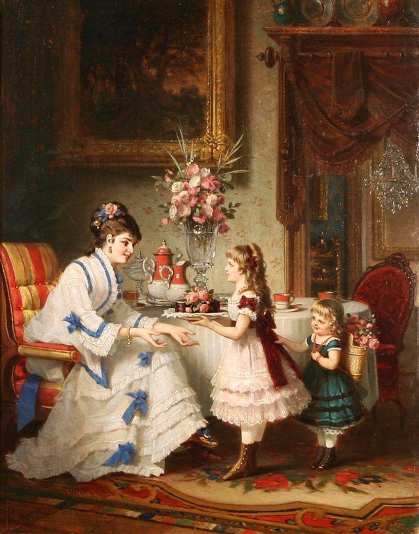 Anton Ebert (Austrian, 1845-1896). Обсуждение на LiveInternet - Российский Сервис Онлайн-Дневников