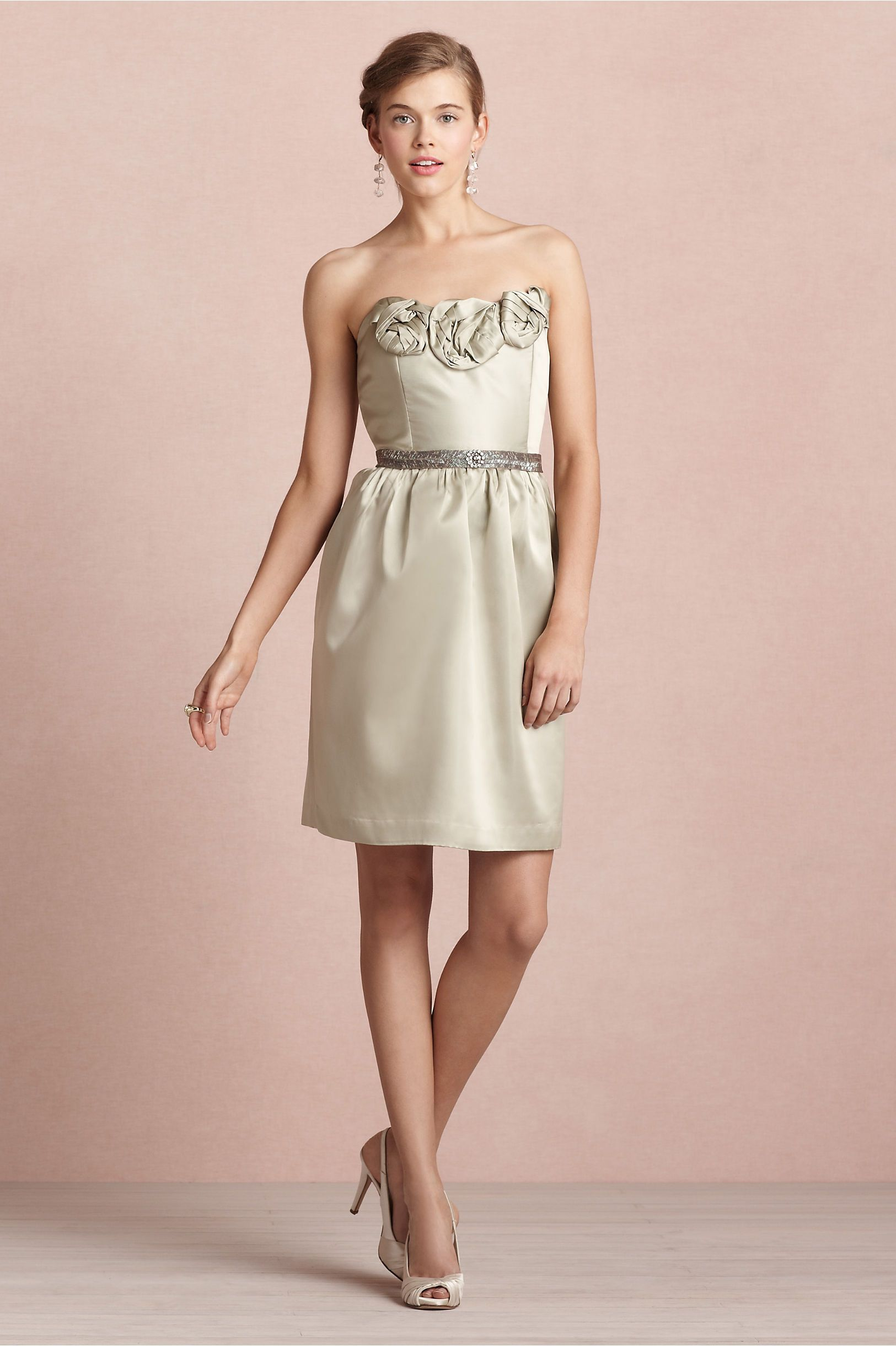 Rosette Dress in SHOP Bridesmaids & Partygoers Dresses at BHLDN ...
