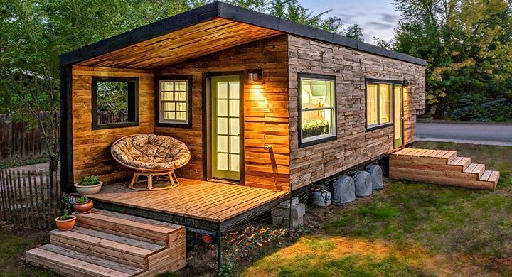Casas prefabricadas de madera y sus ventajas ola - Refugios de madera prefabricados ...