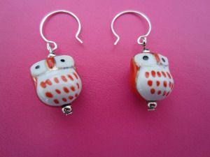 Earrings- handmade by myself :)