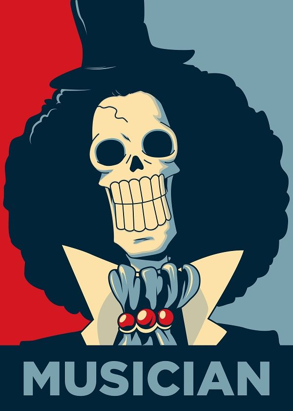 BROOK THE MUSICIAN by Christopher Sanabria   metal posters