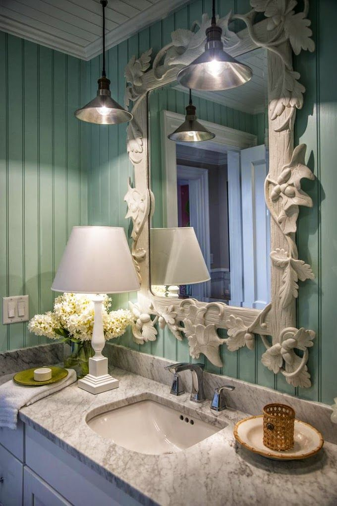 House of Turquoise: More from the HGTV Dream Home 2015Sherwin-Williams Breaktime SW 6463