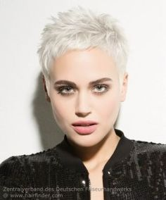 Very Short Hairstyles Very Short Pixie For Platinum Blonde Haircute Short Haircut For