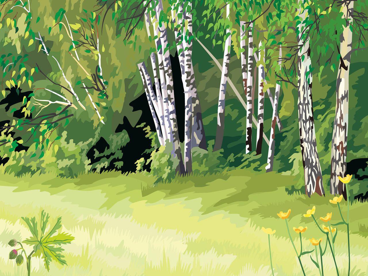 картинки сказочного летнего леса сладкий
