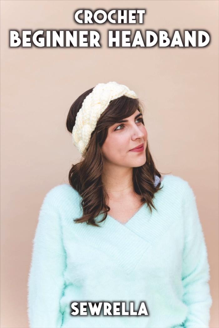 Photo of Crochet Beginner Headband – free pattern