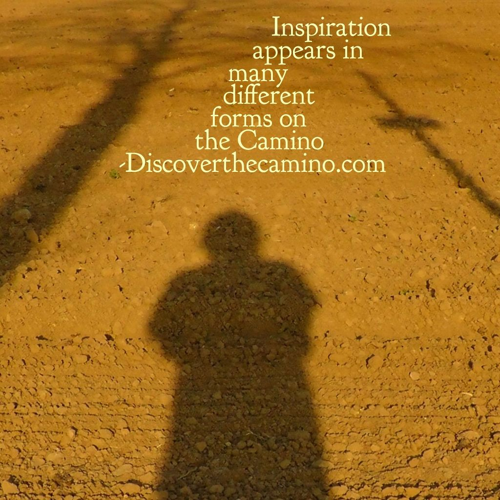 Inspiration Appears In Many Different Forms The Camino