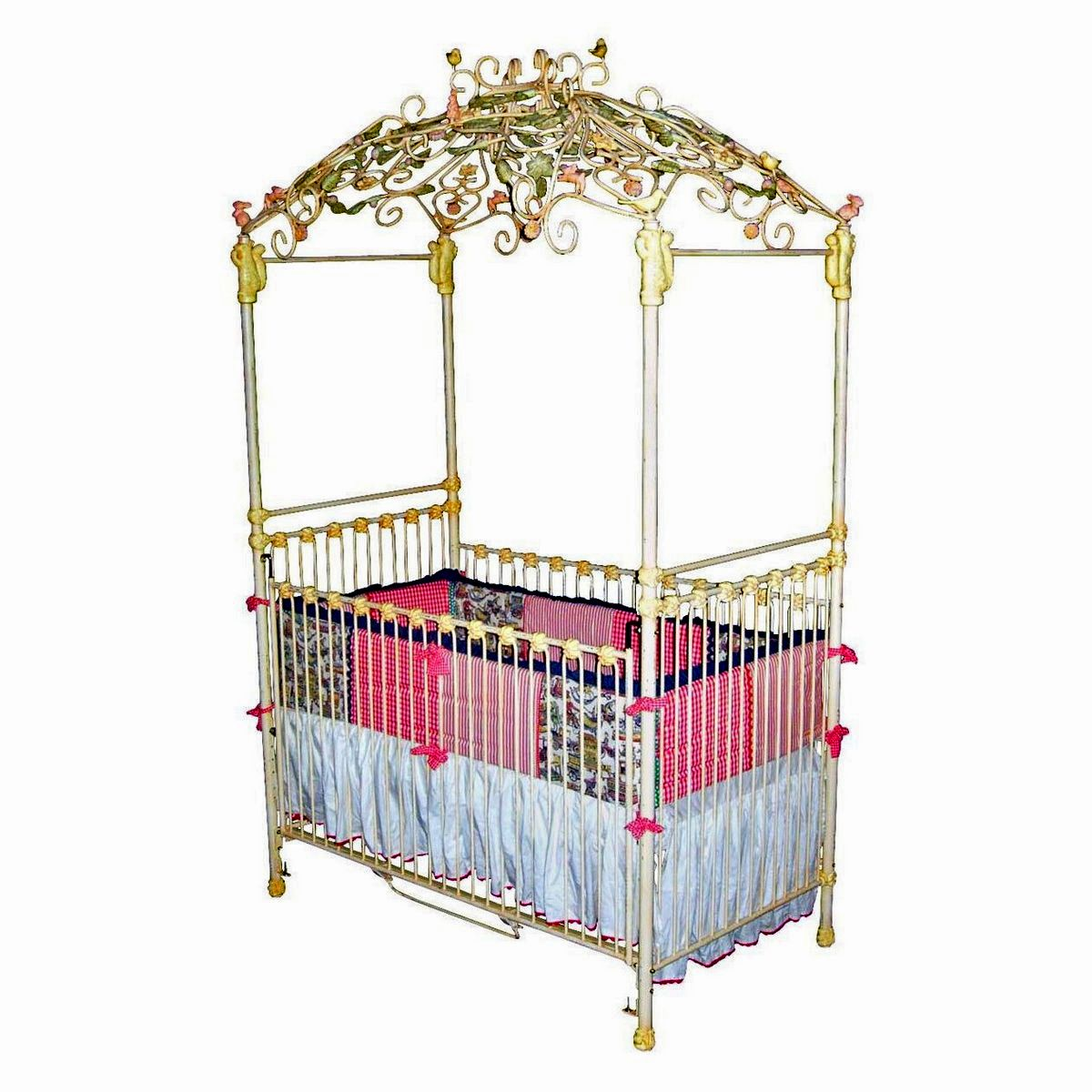 Some Safety Tips For Using Iron Cribs  Wrought Iron Baby Crib.  sc 1 st  Pinterest & Wrought Iron Baby Crib | Some Safety Tips for Using Iron Cribs ...