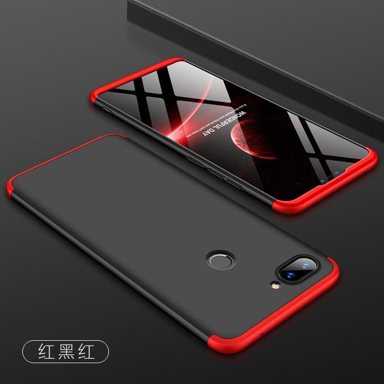 For Xiaomi Mi 8 Lite Case Hard 3 In 1 Matte Armor Hybrid Protective Back Cover Cases For Xiaomi Mi8 Lite 360 Full Co Phone Case Cover Case Cover Tempered Glass