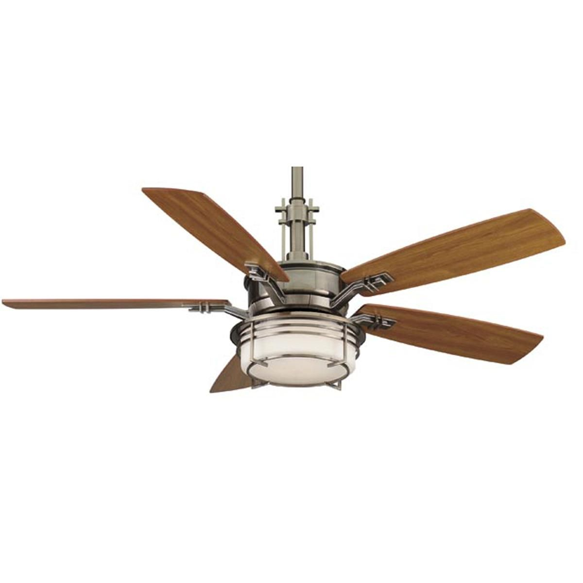 54 Craftsman Style Ceiling Fan 2 Finishes Ceiling Fan