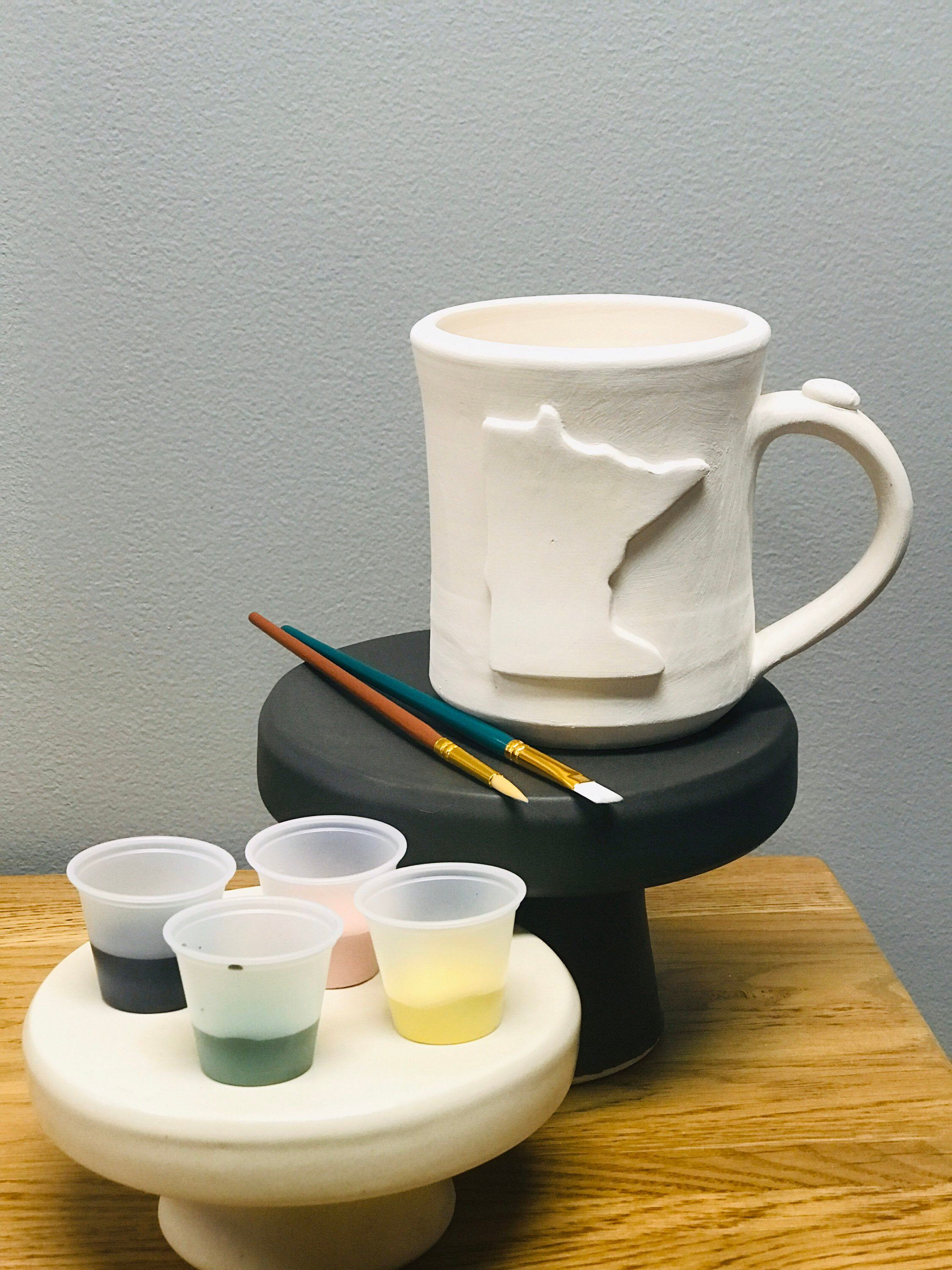 Paint Yer MN Mug at Home Kit in 2020 Mugs, Blue options